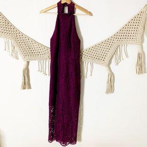 Keepsake the Label Lace Midi Dress